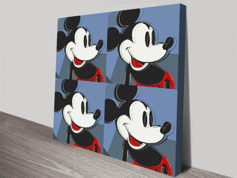 Buy Vintage Mickey Mouse Warhol Wall Art