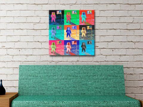 Buy Warhol Moonwalk Artwork Unique Gifts AU
