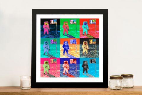 Buy Colourful 9-Panel Warhol Artwork AU