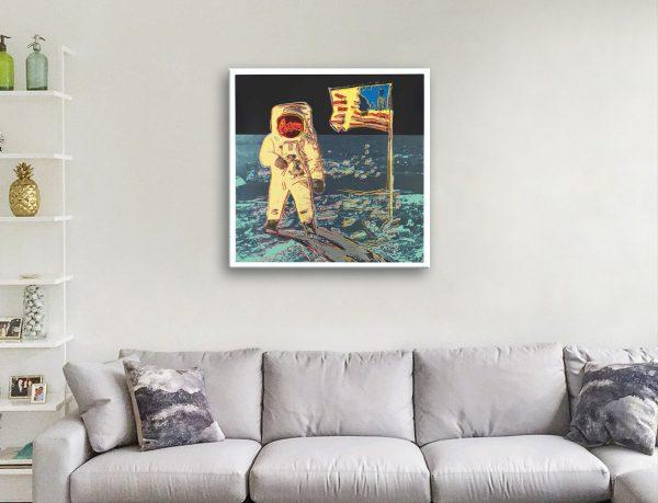 Buy a Ready to Hang Warhol Moonwalk Print