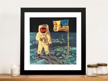 Buy a Framed Moonwalk Print by Andy Warhol