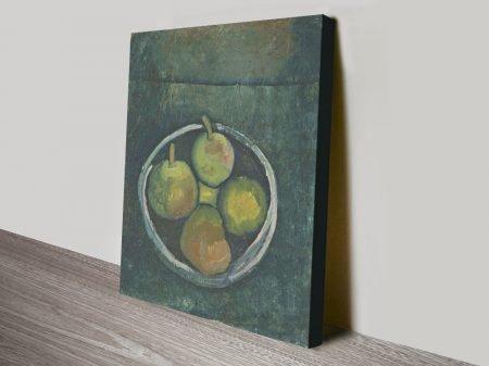 Buy a Paul Klee Still Life Print on Canvas