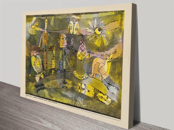 Buy Paul Klee Canvas Prints Cheap Online