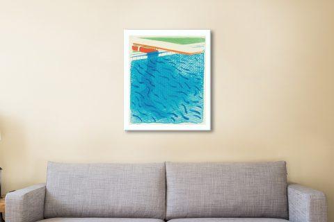 Buy Ready to Hang Paper Pools Pop Art Prints AU