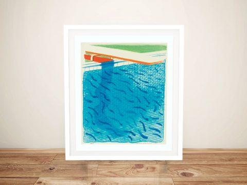 Buy Colourful Hockney Pop Art Prints Online