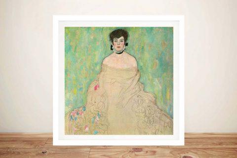 Buy a Framed Portrait of Amy Zuckerlandl