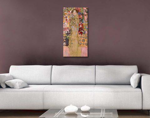 Buy Panoramic Classic Klimt Wall Art Prints AU