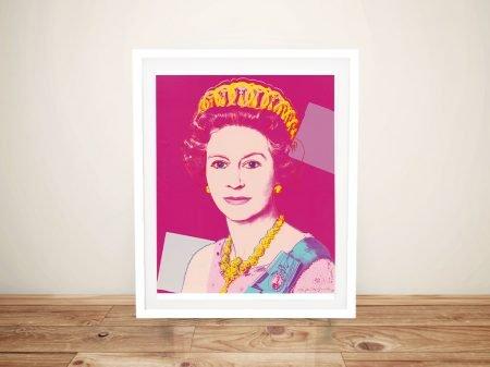 Buy Andy Warhol Queen Elizabeth Pop Art