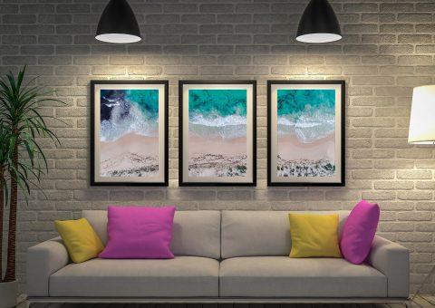 Sovereign Waves Triptych Artwork