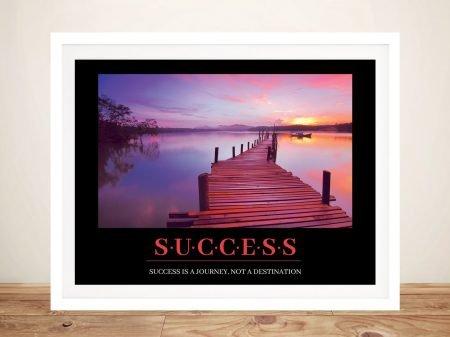 Buy a Framed Success Inspirational Poster Print