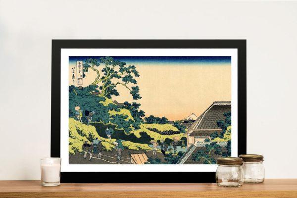 Buy The Fuji Seen from the Mishima Pass Art