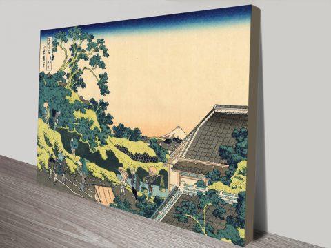 Buy Hokusai Mount Fuji Japanese Art Online