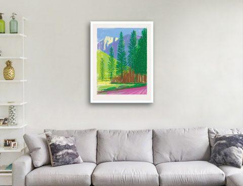 Buy Ready to Hang Hockney Yosemite Art