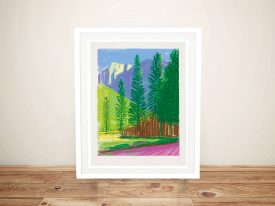 Buy a Hockney Landscape iPad Pop Art Print