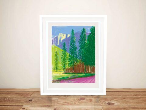 Buy a Hockney Landscape iPad Pop Art Print