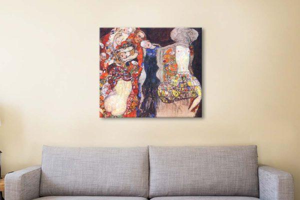 Buy an Adorn the Bride Print on Canvas AU