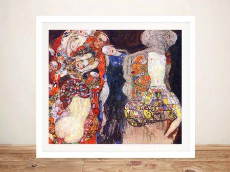 Buy Adorn the Bride Klimt Canvas Wall Art