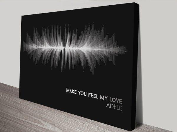 Buy Adele Soundwave Art Wedding Gift Ideas