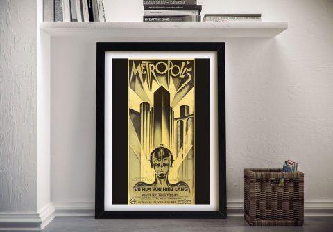 Buy a Vintage Metropolis Movie Poster Print