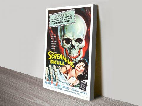Buy The Screaming Skull Horror Movie Poster