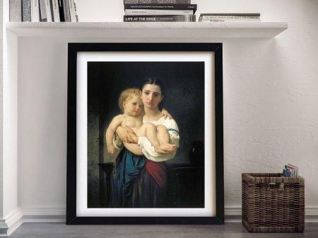Buy Elder Sister Bouguereau Classic Wall Art