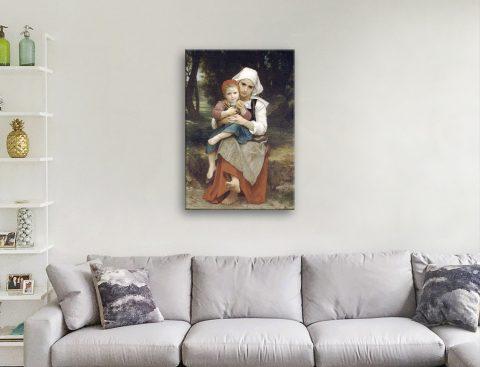 Get Bouguereau Classic Art Prints Online