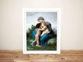 Buy a Framed Canvas Print of Fraternal Love