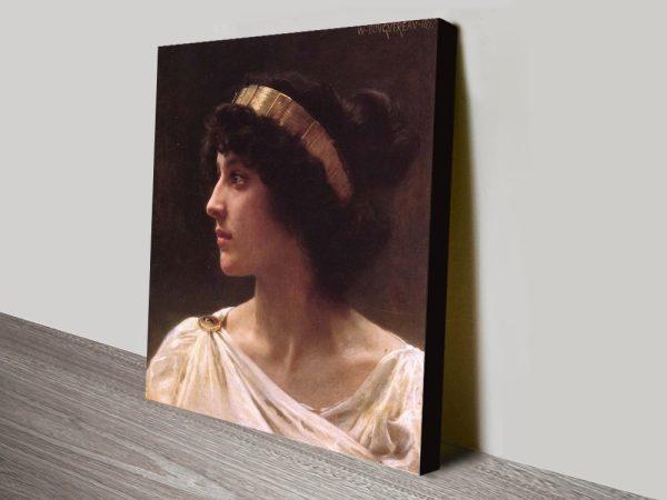 Buy Irene a Classic Portrait Print on Canvas