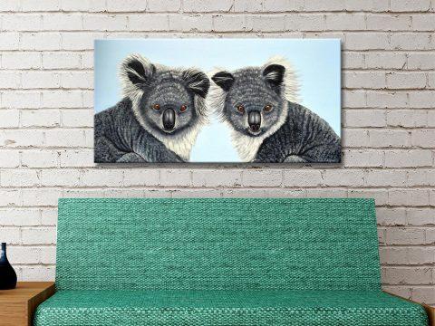 Koalas-canvas-art-print