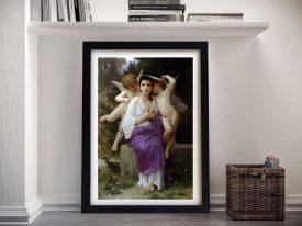 Framed Print of L'Eveil du Coeur Classic Art