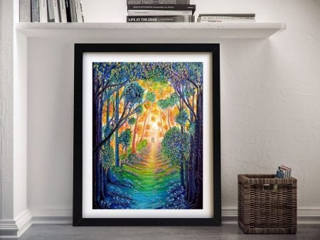 Buy Our Colourful World Painting Print on Canvas