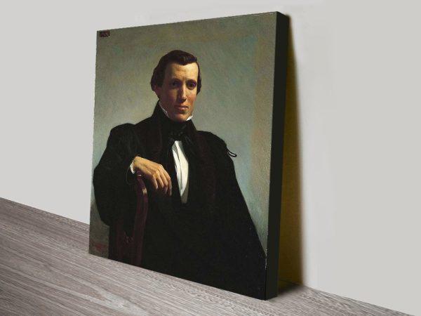 Buy a Painting Print of Portrait of Monsieur M