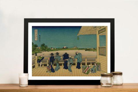 Buy Sazai Hall Classic Japanese Wall Art