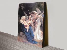 Song of the Angels Classic Print on Canvas