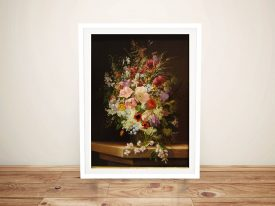 Buy Still Life of Flowers Classical Wall Art