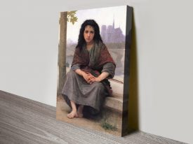 The Bohemian Bouguereau Classic Wall Art
