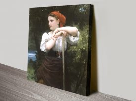 Buy The Haymaker Wall Art by Bouguereau
