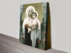The Madonna of the Roses Classic Wall Art