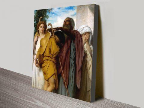 Buy Tobias Saying Goodbye Canvas Art