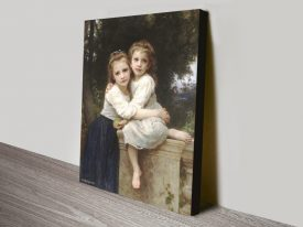 Two Sisters Classic Bouguereau Wall Art