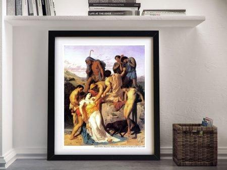 Buy Zenobia Classic Bouguereau Wall Art
