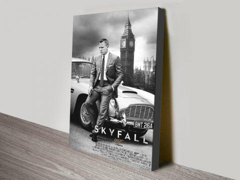 Skyfall Movie Poster Print