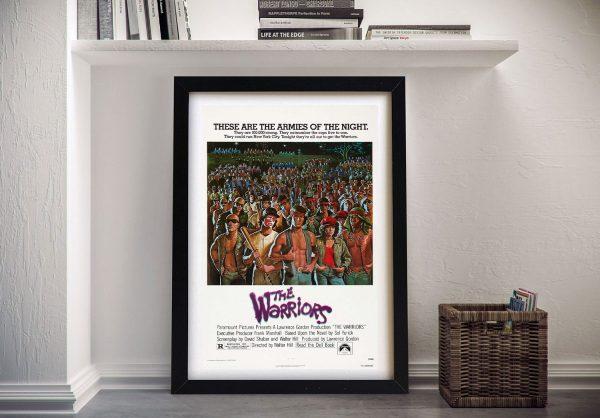 Buy Framed Warriors Movie Poster Wall Art
