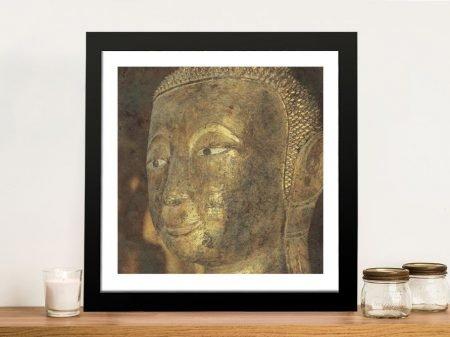 Moment of Zen 3 Buddha Print on Canvas