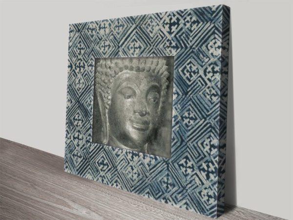 Moment of Zen 1 Buddha Canvas Wall Art
