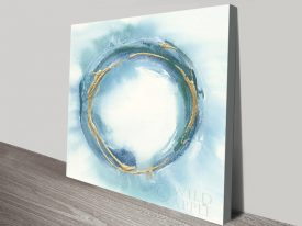 Chris Paschke Enso Canvas Wall Art Print