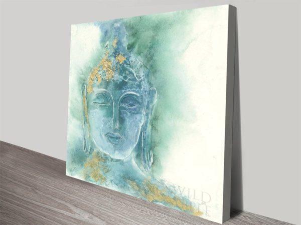 Gilded Buddha Chris Paschke Painting Print