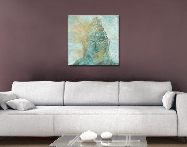 Buddha Bright Watercolour Print Wall Art