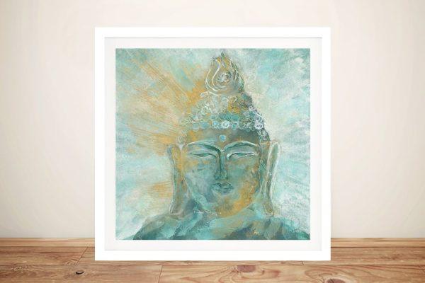 Chris Paschke Buddha Bright Print on Canvas
