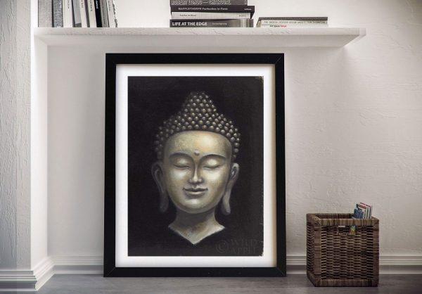 Serene Buddha Print on Canvas Unique Gifts AU